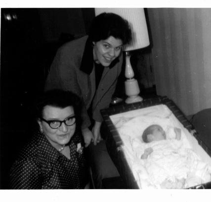 Me my mom & Granny